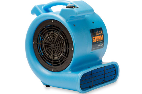 Soleaire Max Storm Durable Lightweight Air Mover & Carpet Dryer Blower Floor Fan
