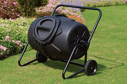 Kotulas Wheeled Homemade Compost Tumbler - 50 Gallons