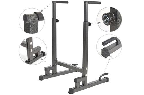 Livebest Adjustable Heavy DutyParallelDip Stand