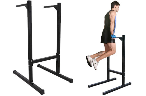 F2C 440lbs Heavy Duty Exercise Training Dipping Station Bars