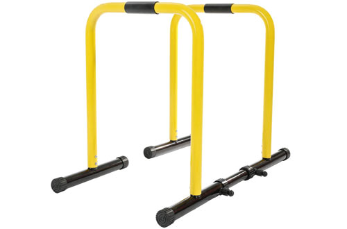 RELIFE REBUILD YOUR LIFE Heavy Duty Workout Dip Bar Station Stand