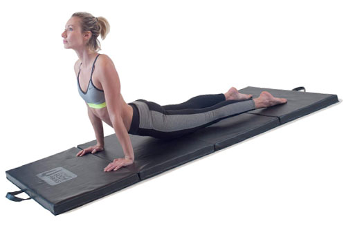 Ultimate Body Press Four Panel Folding Exercise and Yoga Mat