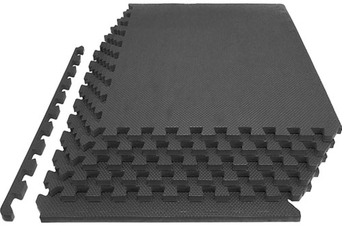 Prosource Fit Extra Thick Puzzle Mat for Home and Gym Equipment