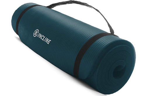 Incline Fit Non-Slip & Comfortable Exercise Mat for Yoga and Floor Exercise