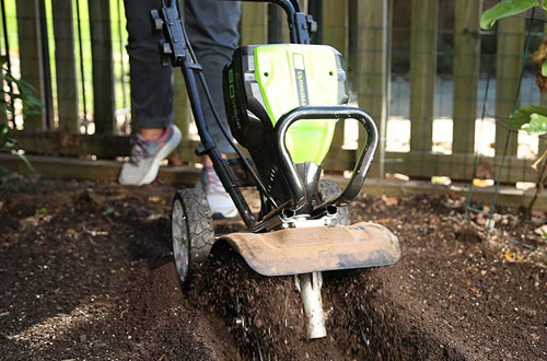 Greenworks TL80L00 Cordless Cultivator & Cultivator