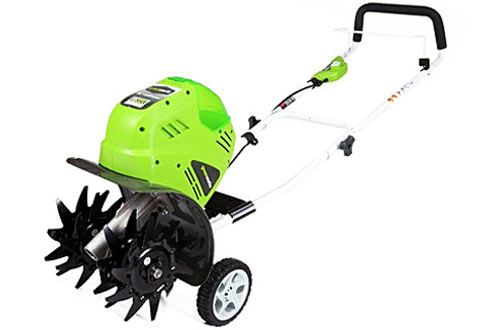 Greenworks Battery-Powered Cordless Cultivator