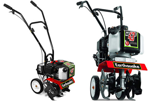 Earthquake MC43E Electric Mini Cultivator with Viper Engine