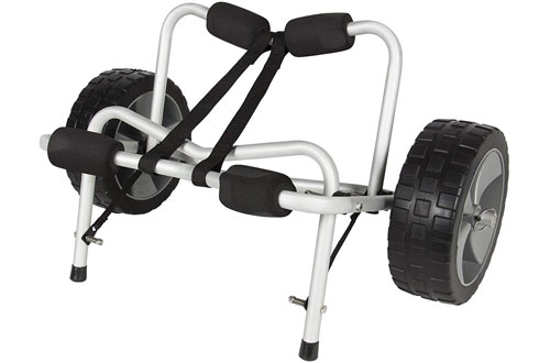 Best Aluminum Dolly Cart Carrier for Kayak, Boat and Canoe