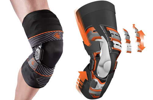 Shock Doctor Bionic ACL, MCL, PCL & Meniscus Knee Brace with Compression Sleeve