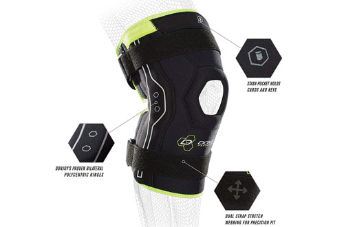 DonJoy Performance BionicACLKnee Brace forMeniscus & Knee Sprains