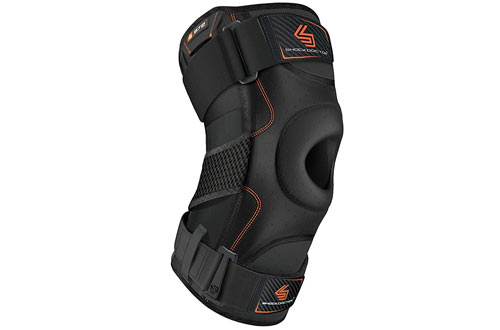 Shock Doctor Runners Knee Brace - Knee Support for Stability