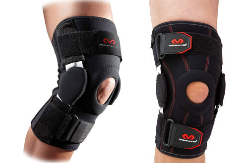 McDavid Maximum Knee Brace Support & Compression for Knee Stability & Recovery Aid