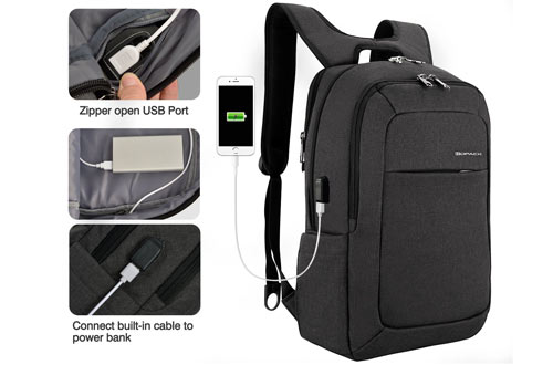 Kopack 17-Inch Business Slim Laptop Backpack for Travel