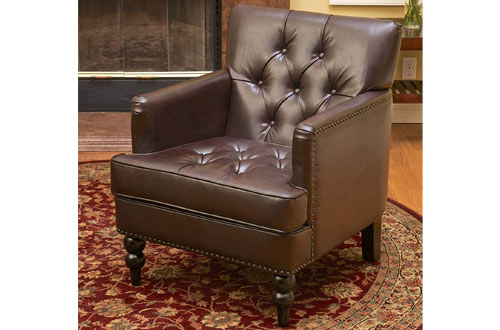 Best Selling Murphy Brown Leather Club Chair