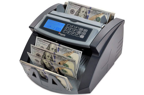 Cassida 5520 UV/MG Money Counter with Counterfeit Bill Detection