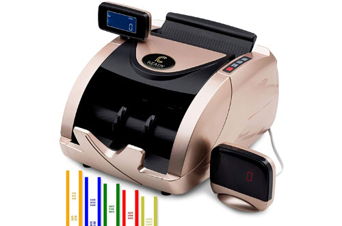 Ready CounterMoney Counting Machine for Mixed Bills -Bill Counter Machine with 150 Bill Straps