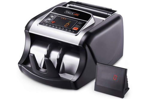 Money Counter with UV/MG/IR Detection, Bill Counting Machine with Counterfeit Detection