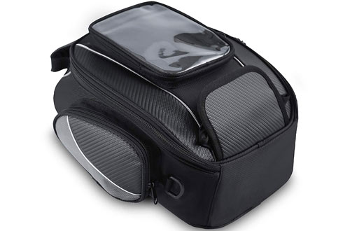 OH Motor Magnetic Waterproof Motorcycle Tank Bag for Honda Yamaha, Suzuki, Kawasaki