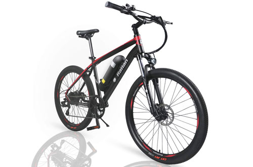 Rattan 26-Inch Aluminum Electric Mountain Bike for Adults