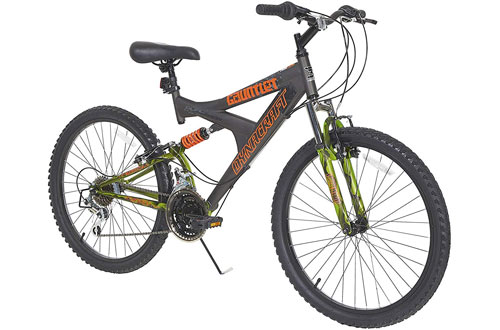 Dynacraft Gauntlet Dual Suspension Bike for Adults