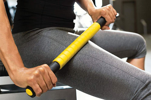 SKLZRoller Massage Stick for Physical Therapy, Trigger Points and Pain Relief