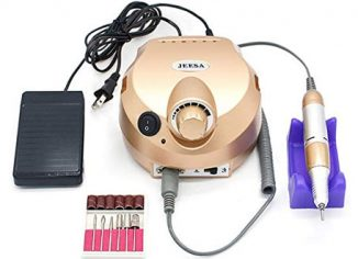 JEESA 30000RPM Electric Professional Nail Drill Machine for Acrylic Gel Nails