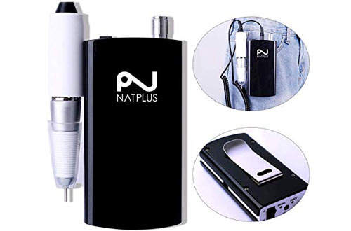 NATPLUS Professional Nail Drill Machine - Acrylic Nail Tool for Gel Nail
