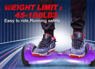 Hoverheart Off-road Hoverboard UL 2272 Certified Flash