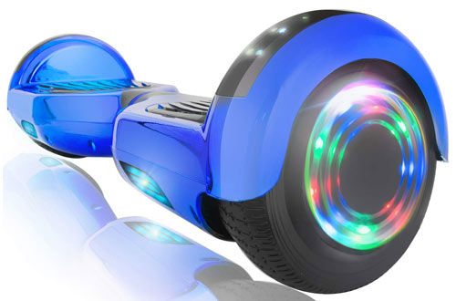 XPRIT Self Balancing Scooters - Off road Hoverboard with Bluetooth Speaker & Wheel