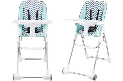 Evenflo Symmetry Foldable High Chair for Baby