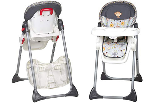 Baby Trend Sit Right Space Saver High Chair with Bobble Heads