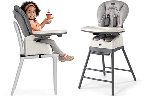 Chicco Stack 3-in-1 Highchair, Booster and Stool