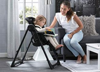 Jeep Classic Convertible Foldable High Chair for Babies and Toddlers