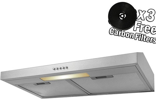 AKDY Stainless Steel Under Cabinet Grease Filters Range Hood