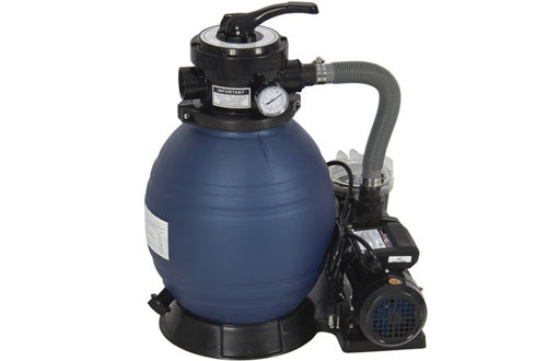Pro 2400GPH 13-Inch Sand Filter Above Ground Swimming Pool Pump