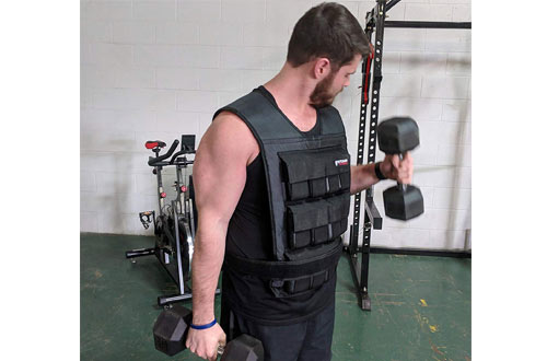 Titan Fitness60 LB Weighted Vest for Running