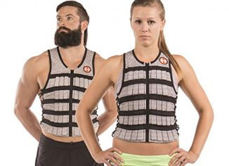 Hyperwear Fitness Adjustable Weighted Vest Workouts