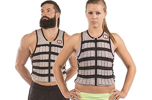 Hyperwear Fitness Adjustable Weighted VestWorkouts