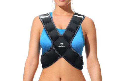 Empower Adjustable Weighted Running Vest for Women