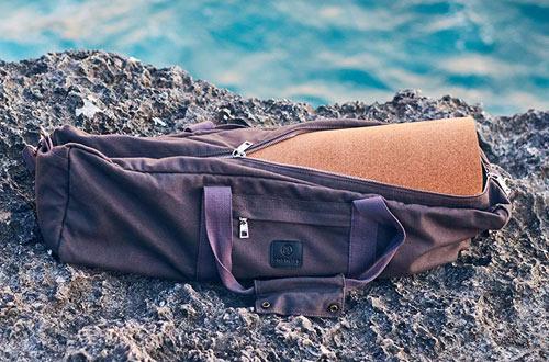 AnandayEco-FriendlyYoga Mat Duffel Bag with Pockets and Zipper