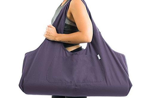 Yogiii Large Yoga Mat BagFits Most Size Mats