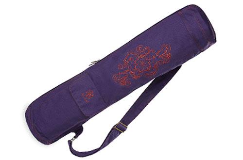 Gaiam Full-Zip Cargo Pocket Gym Yoga Mat Bags