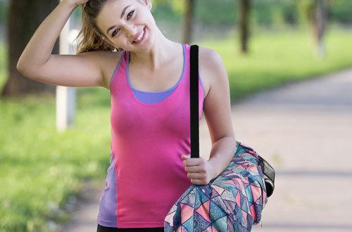 RoryTory Yoga Mat Bag with Adjustable Strap & Water Bottle Carrier