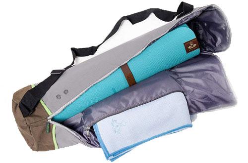 Heathyoga Exercise Yoga Mat Bag withAdjustable Shoulder Strap
