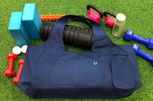 UhawiLarge Light and Durable Yoga Mat Tote Sling Carrier