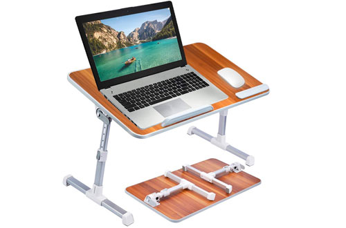Avantree Foldable Standing Laptop Stand for Couch & Bed