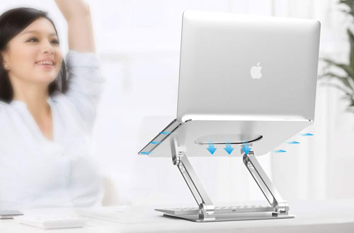 Boyata Foldable Laptop Stand for MacBook Pro/Air