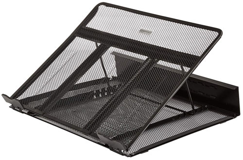 AmazonBasics Ventilated Adjustable Laptop Stand
