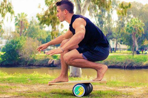 INDO BOARD Training Balance Board for Fitness Training and Fun