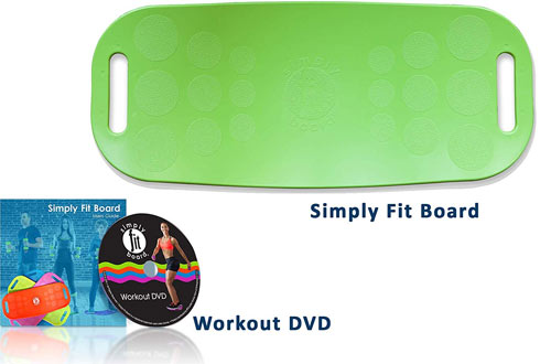 Simply Fit Board - The Abs Legs Core Workout Balance Board with A Twist